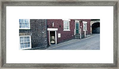 Hexham Chiropractor Framed Print by Jan W Faul