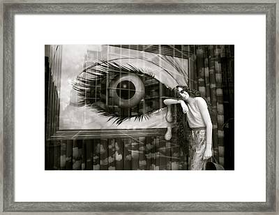 Hey There Framed Print by Jez C Self