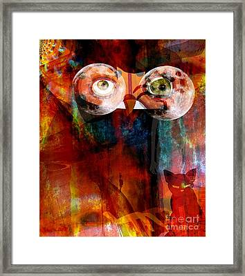 Hibou Framed Print