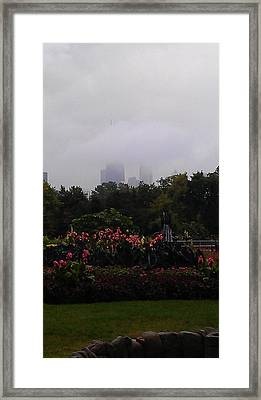 Hidden City Framed Print by Hope Williamson