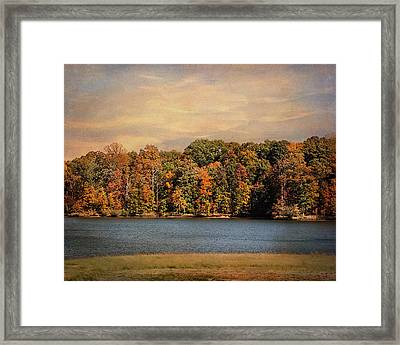 Hidden Cove Framed Print by Jai Johnson