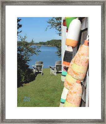 Hidden Cove Framed Print