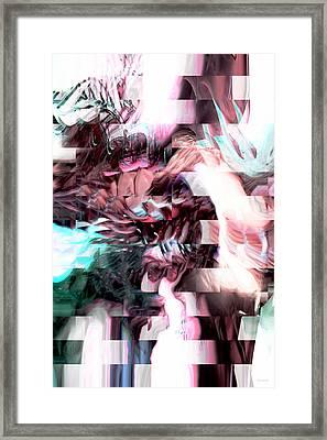 Hidden Dimensions Framed Print by Linda Sannuti