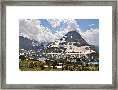 Framed Print featuring the photograph Hidden Lake  by Johanne Peale