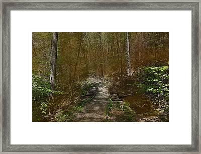 Hidden Rail Road Framed Print by Joseph G Holland