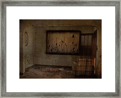 Hidden Smiles Of Birds  Framed Print by Empty Wall