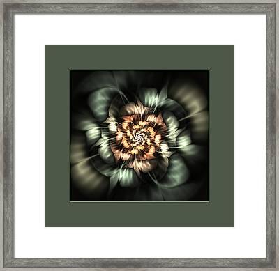 Hidden Sparkle Framed Print