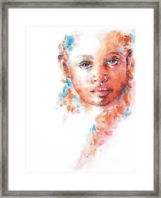 Hidden Tears Framed Print