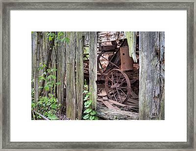 Hidden Treasure Framed Print by JC Findley