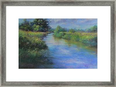 Hidden Waters Framed Print