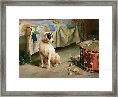 Hide And Seek Framed Print by Arthur Charles Dodd