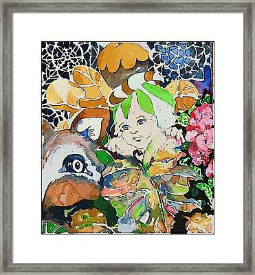 Hide And Seek Framed Print by Mindy Newman