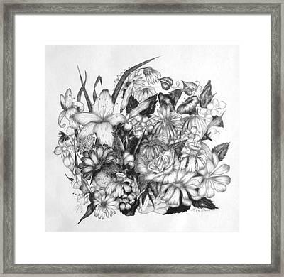 Hide And Seek Framed Print by Sharon Denton