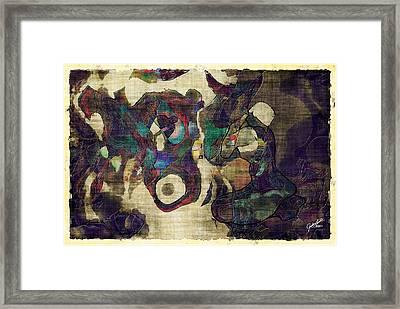 Hide And Seek Framed Print