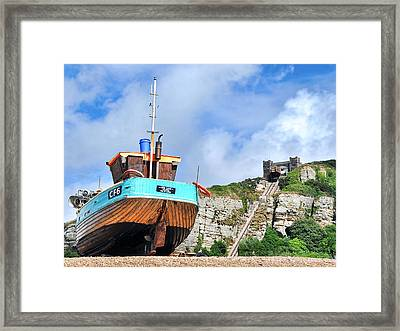 High And Dry Framed Print by Graham Taylor