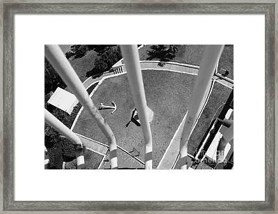 High And Dry Framed Print by Luke Moore