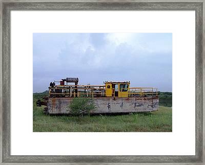 High And Dry Framed Print by Rodney Mumford