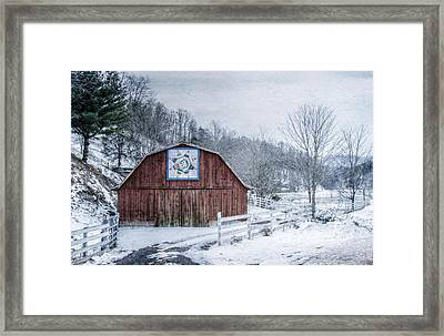 High Country Style Framed Print by Christine Annas