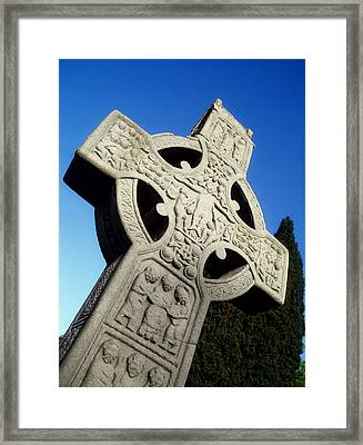 High Cross, Monasterboice, Co Louth Framed Print by The Irish Image Collection