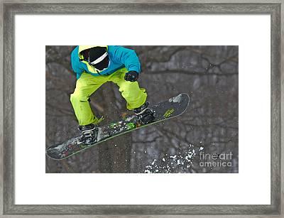 High Flyin' Framed Print