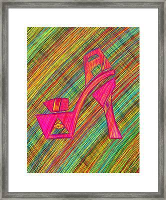 High Heels Power Framed Print by Kenal Louis