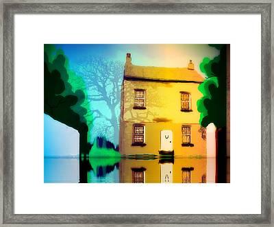 High House Framed Print