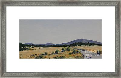 High Land Road Framed Print by Adam Smith