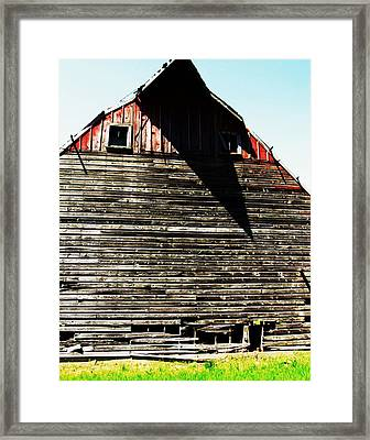 High Noon Framed Print by Todd Sherlock
