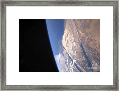 High Oblique Scene Looking Framed Print by Stocktrek Images