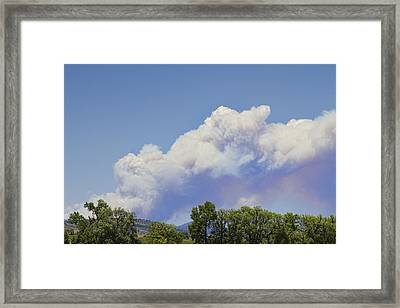 High Park Fire Larimer County Colorado  Framed Print by James BO  Insogna