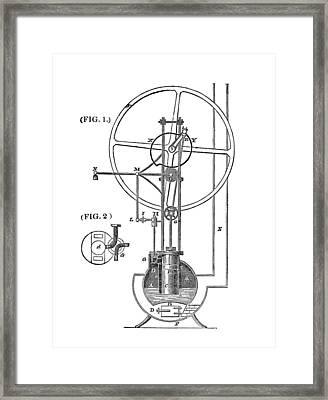 High-pressure Engine Framed Print