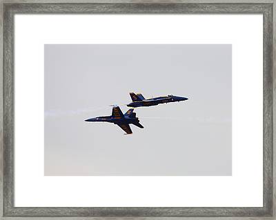 High Speed Pass Framed Print by Kevin Schrader