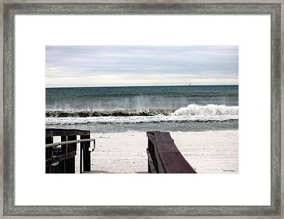 High Surf Framed Print