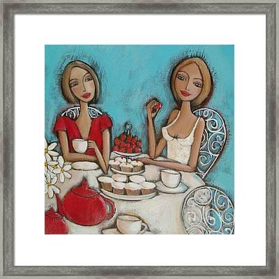 High Tea Framed Print by Denise Daffara