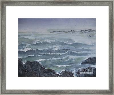 High Tide Framed Print