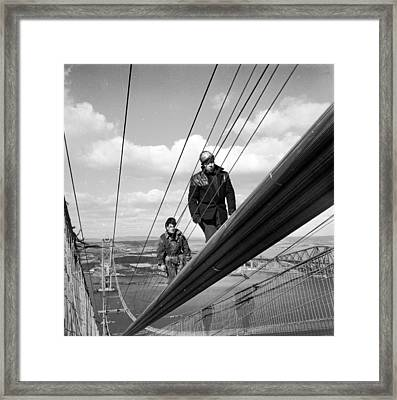 High Wire Framed Print by John Drysdale