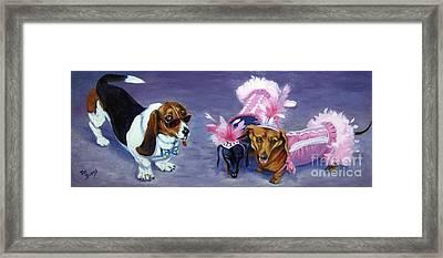 Highclass Hotdogs Framed Print by Pat Burns