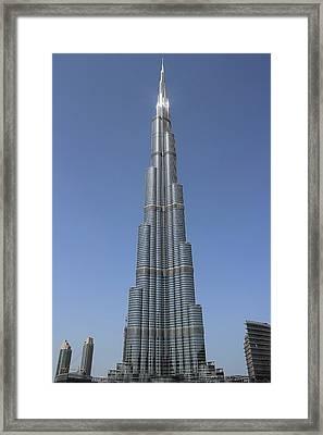Highest Building In The World Framed Print by Radoslav Nedelchev
