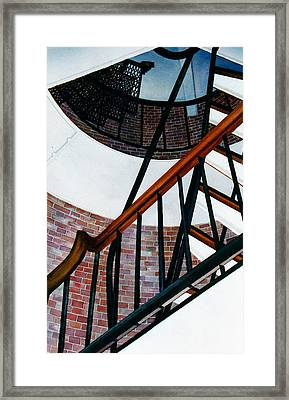 Highland Light Interior Framed Print by Karol Wyckoff