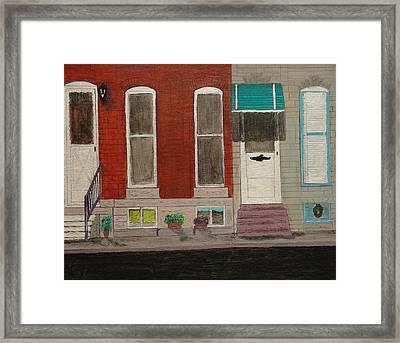 Highlandtown Framed Print