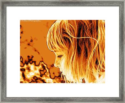 Highlights Of Innocence Framed Print by Heather  Boyd