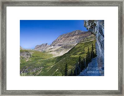Framed Print featuring the photograph Highline Trail 5 by Katie LaSalle-Lowery