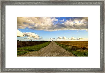 Highway D New Melle Mo 3 Framed Print by Bill Tiepelman