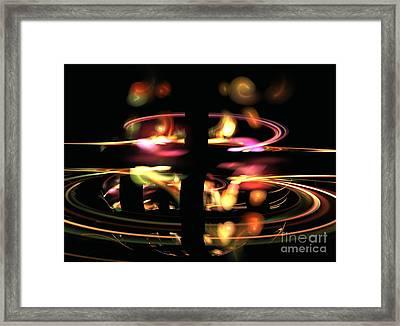Highway Lights Framed Print by Kim Sy Ok