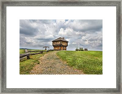 Hill Dweller Framed Print