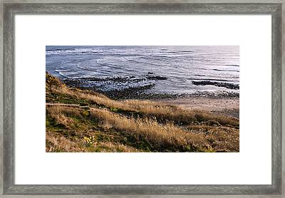 Hill Side View Framed Print by Svetlana Sewell
