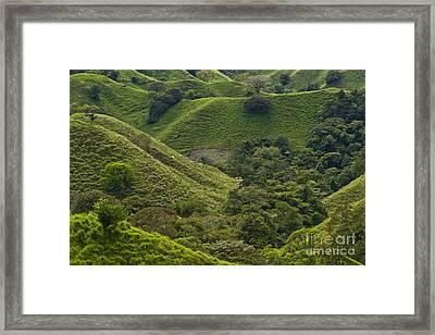 Hills Of Caizan 2 Framed Print by Heiko Koehrer-Wagner