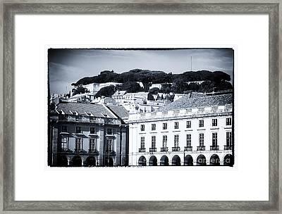 Hills Of Lisbon Framed Print by John Rizzuto