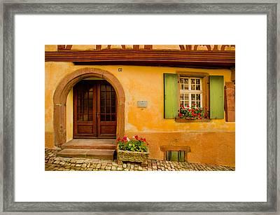 Hillside House Framed Print by John Galbo
