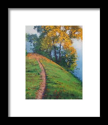 Hillside Framed Prints